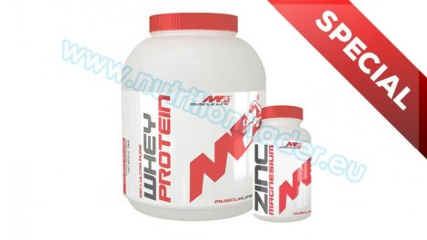 Muscle Line Special Buy 1 pcs Power Mass Gainer (5,07 Lbs.) - Vanilla + get 1 pcs Zinc Magnesium (120 caps) free