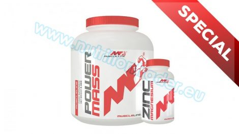 Muscle Line Special Buy 1 pcs Ultra Whey Protein (4,4 Lbs.) - Vanilla + get 1 pcs Zinc Magnesium (120 caps) free