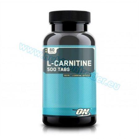 Optimum Nutrition L-Carnitine 500 mg (60 tabs)