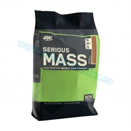 Optimum Nutrition Serious Mass (12 Lbs.) - Strawberry