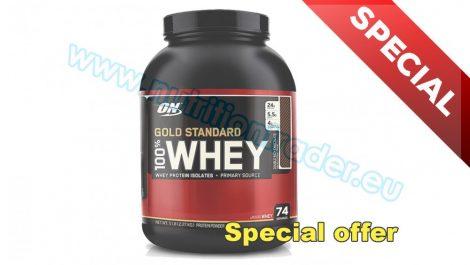 Optimum Nutrition 100% Whey Gold Standard (5 Lbs.) - Caramel Toffee Fudge