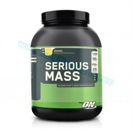Optimum Nutrition Serious Mass (6 Lbs.) - Vanilla