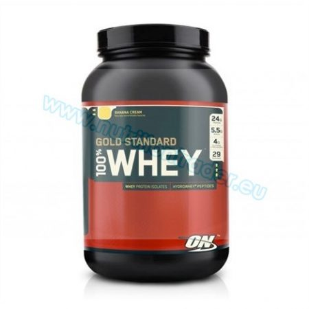 Optimum Nutrition 100% Whey Gold Standard (2 Lbs.) - Vanilla Ice