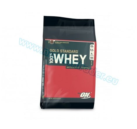 Optimum Nutrition 100% Whey Gold Standard (10 Lbs.) - Chocolate