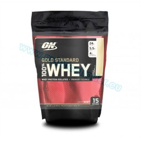 Optimum Nutrition 100% Whey Gold Standard (1 Lbs.) - Strawberry Bag
