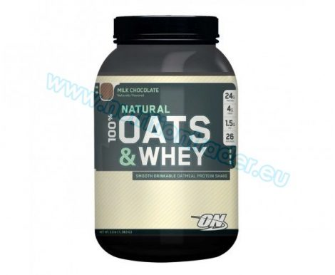 Optimum Nutrition 100% Natural Oats & Whey (3 Lbs.) - Milk Chocolate