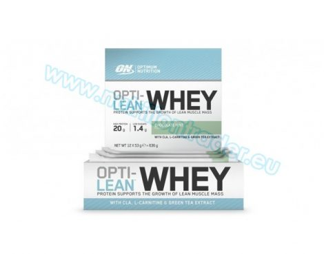 Optimum Nutrition Opti-Lean Whey Bar (12x53g.) - Chocolate Mint