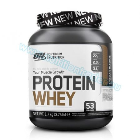 Optimum Nutrition Protein Whey (3,75 Lbs.) - Strawberry Smoothie