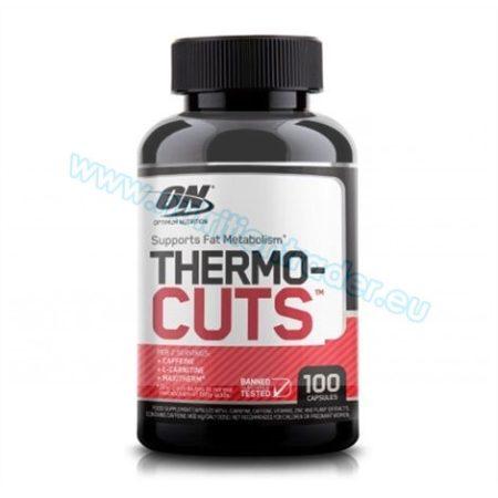 Optimum Nutrition Thermocuts (100 caps)