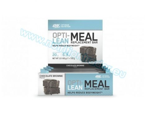 Optimum Nutrition Opti-Lean Meal Replacement Bar (12x60g.) - Chocolate Brownie