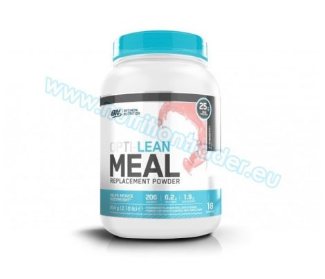 Optimum Nutrition Opti-Lean Meal Replacement Powder (954g.) - Strawberry