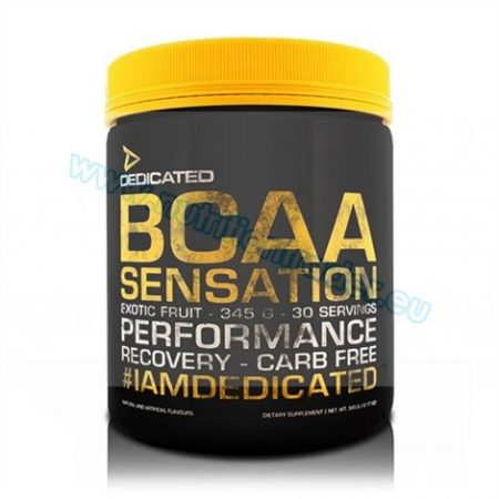 Dedicated BCAA Sensation (345g.) - Exotic Fruit