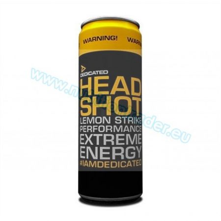 Dedicated Headshot (355ml.) - Cherry Blast