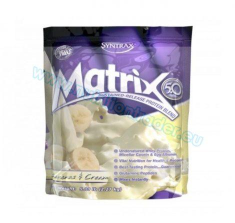 Syntrax Matrix (5 Lbs) - Bananas & Cream