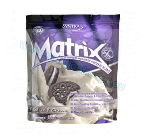 Syntrax Matrix (5 Lbs) - Cookies & Cream