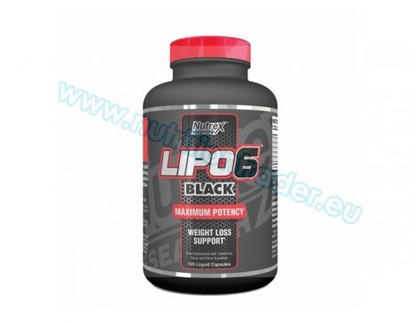 Nutrex Lipo-6 Black International (120 caps)