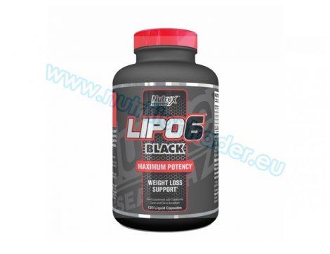 Nutrex Lipo-6 Black International (120 caps)