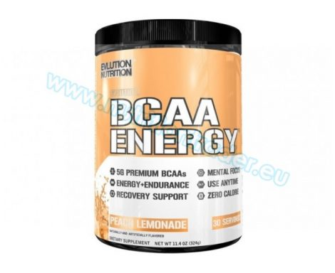 EVL Nutrition BCAA Energ - (30 serv) - Peach Lemonade