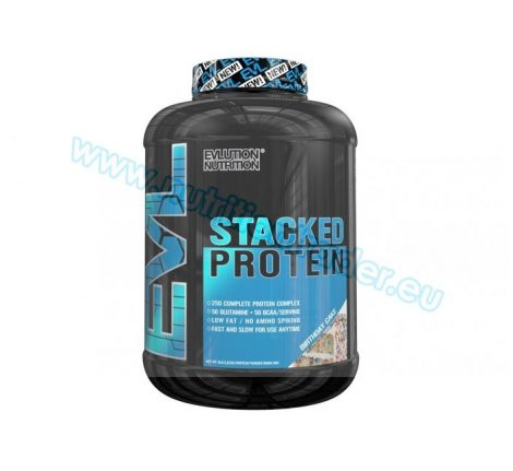 EVL Nutrition Stacked Protein - (4 Lbs.) - Birthday Cake