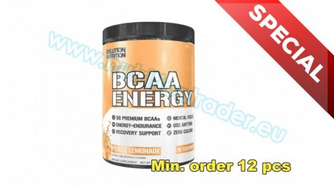 EVL Nutrition Special Buy 12 pcs BCAA Energ - (30 serv) - Peach Lemonade and get our Special Price