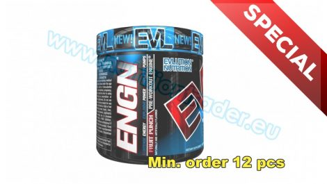 EVL Nutrition Special Buy 12 pcs ENGN - (30 serv) - Fruit Punch (EU verzion) and get our Special Price
