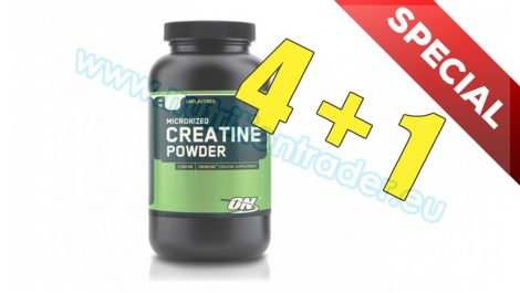 Optimum Nutrition Special Buy 4 pcs Creatine (317g.) - Unflavored and get 1 pcs free