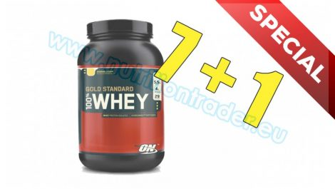 Optimum Nutrition Special Buy 7 pcs 100% Whey Gold Standard (2 Lbs.) - Chocolate and get 1 pcs free