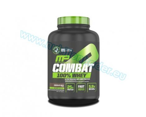 Musclepharm Combat 100% Whey - (4 Lbs.) - Strawberry