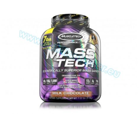 Muscletech Mass Tech - (7 Lbs.) - Milk Chocolate