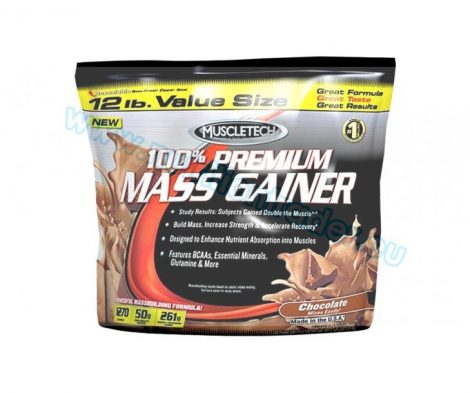Muscletech Premium Mass Gainer - (12 Lbs.) - Strawberry