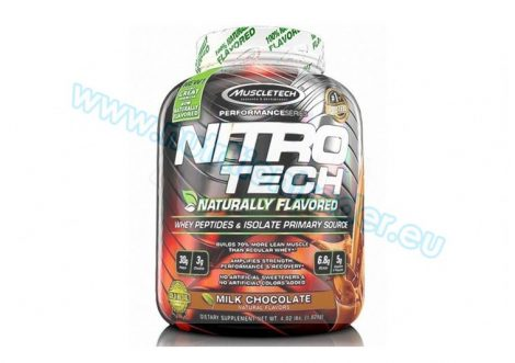 Muscletech Nitrotech - (4 Lbs.) - Naturally Flavoured Chocolate