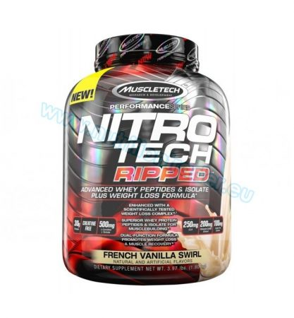 Muscletech Nitrotech Ripped - (4 Lbs.) - Chocolate