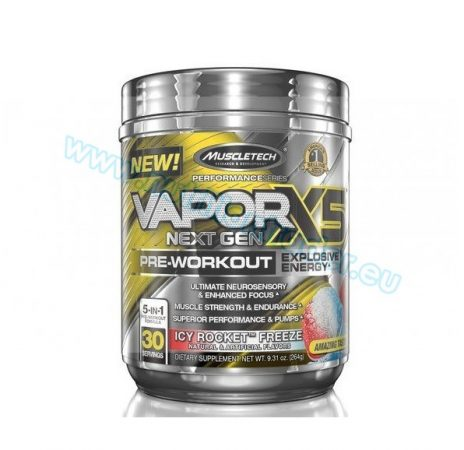 Muscletech Vapor X5 Next Gen - (30 serv) - Fruit Punch
