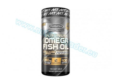 Muscletech Platinum 100% Omega Fish Oil - (100serv) - (100 caps)
