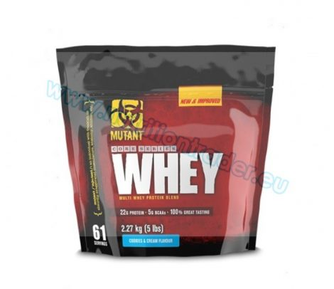 Mutant Whey - (5 Lbs.) - Strawberry Cream