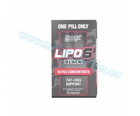 Nutrex Lipo-6 Black UC International (60 caps)