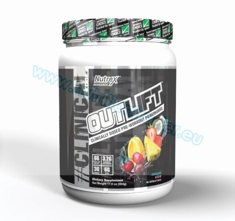 Nutrex Outlift (20 serv) - Miami Vice